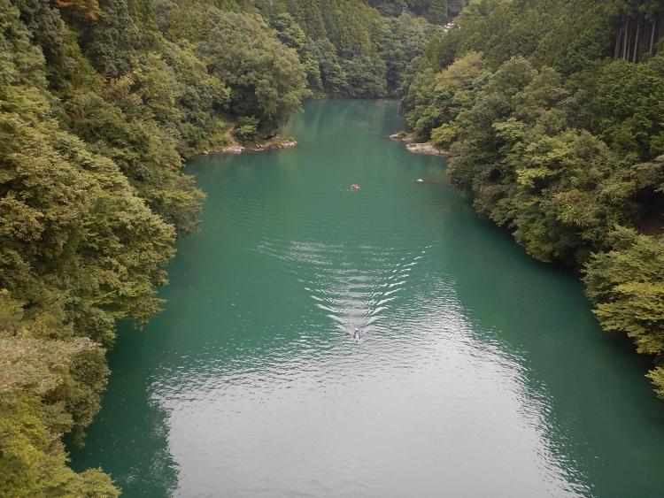 白丸湖の秋