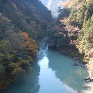 奥多摩白丸湖の紅葉(2017/11/7)