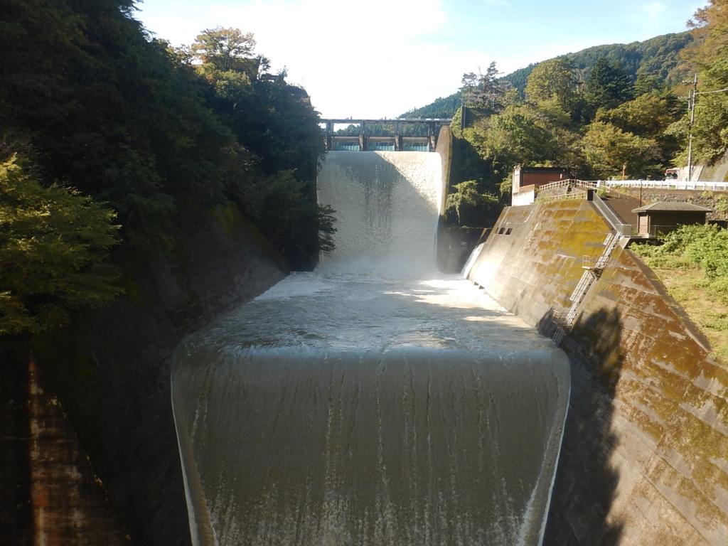 多摩川上流部の水位情報(2019/10/26)