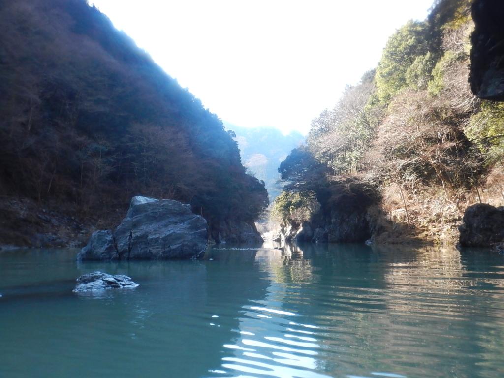白丸湖ロング漕②