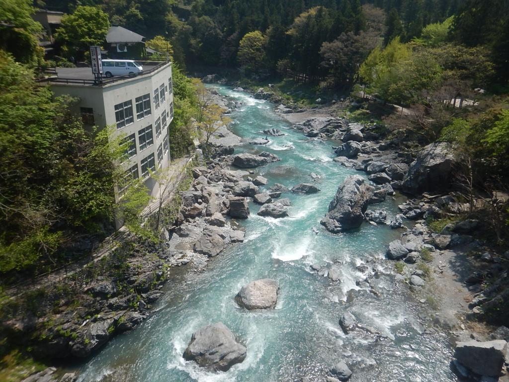 GWの多摩川御岳渓谷