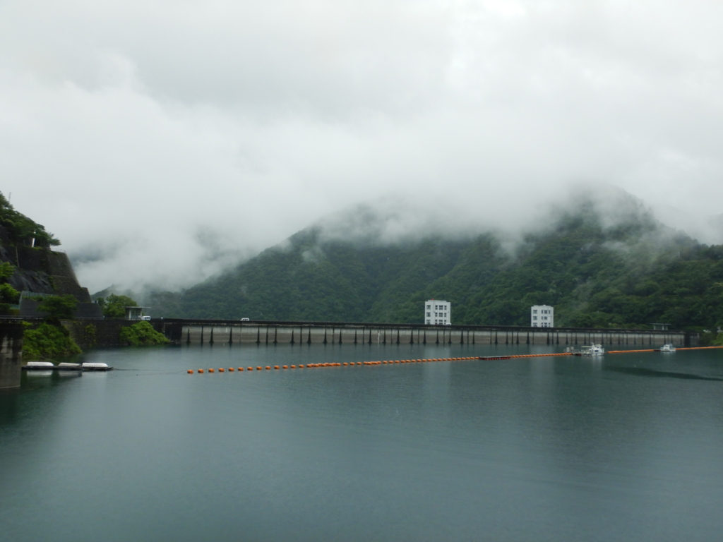 奥多摩湖(小河内ダム)の貯水率